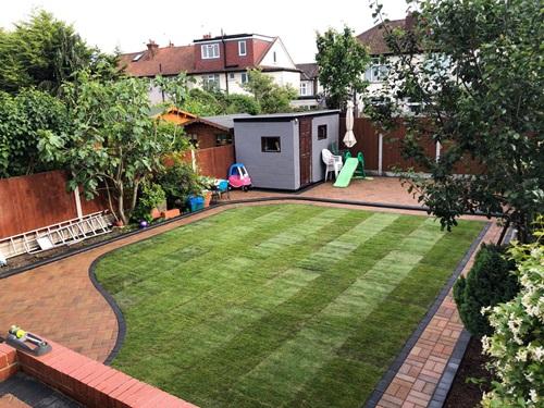 Garden landscaping in Enfield