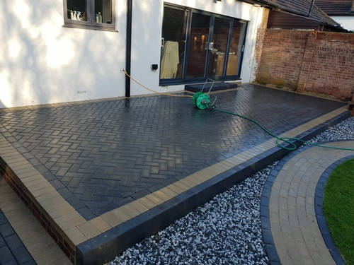 Superior Patios installatons in Woodford