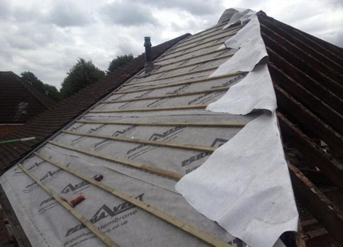 Pitch Roofing Repairs in Enfield