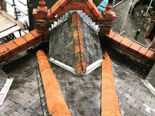 Leadwork roofing in Enfield